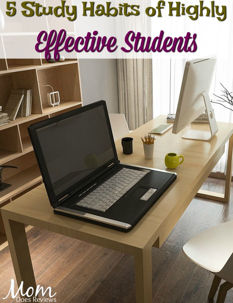 5 Study Habits of Highly Effective Students #education #students #studying #organize