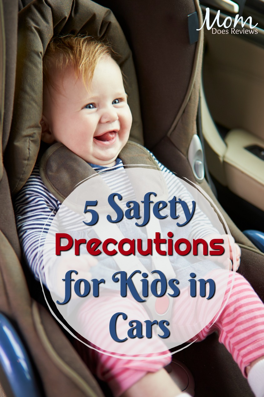 5 Top Safety Precautions for Kids in Cars #parenting #safety #kids #carseats