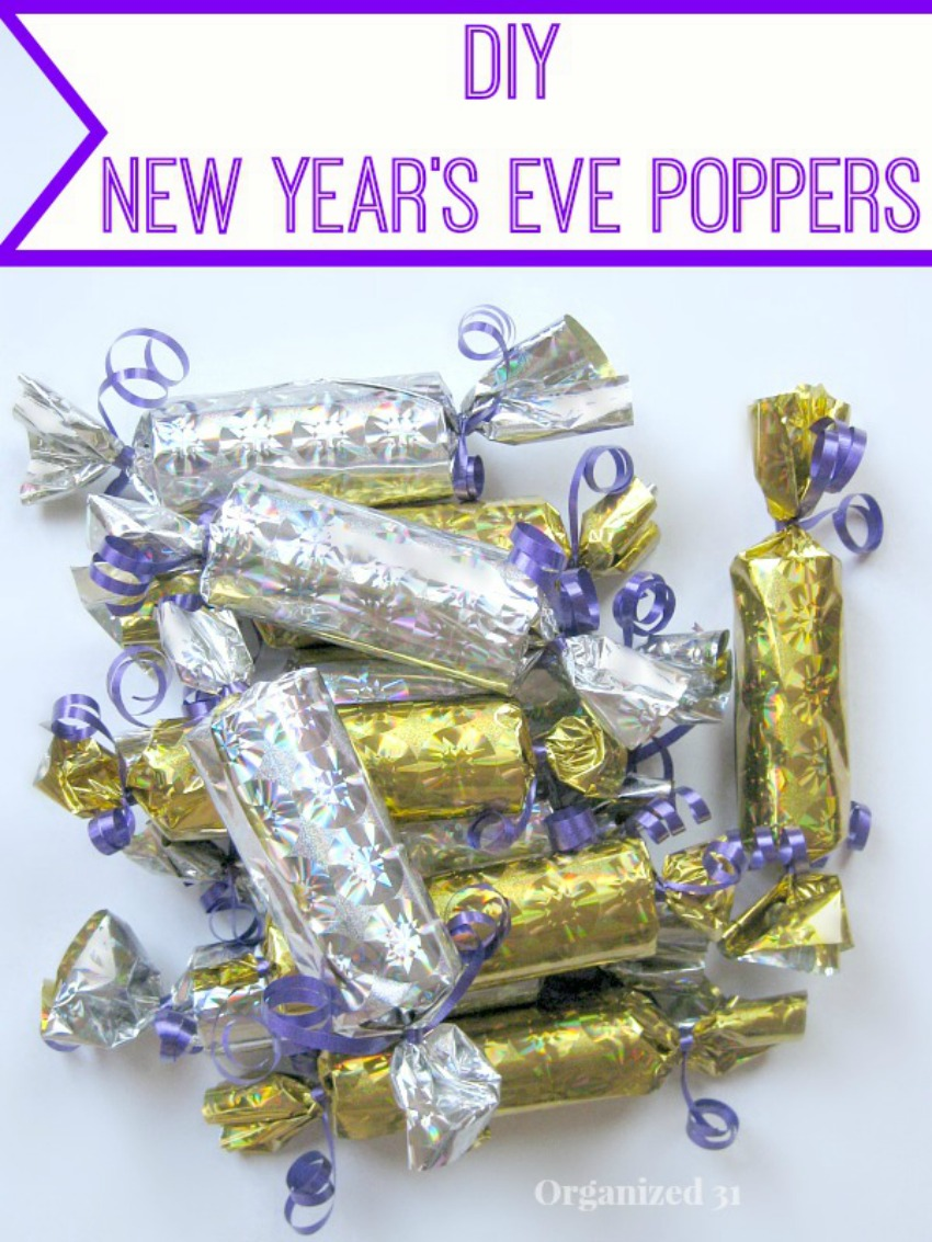 Easy New Year's Eve Poppers