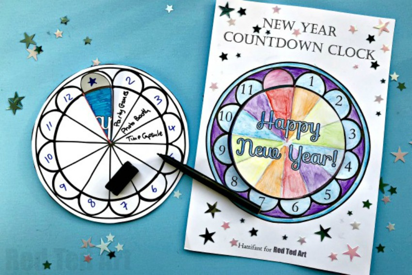 10 New Year's Crafts and Printables to Help you Celebrate ...