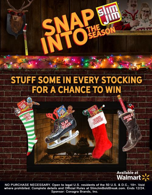 How to Create the Ultimate Fun and Games Christmas Stocking with Slim Jim #SlimJimBoldBreak