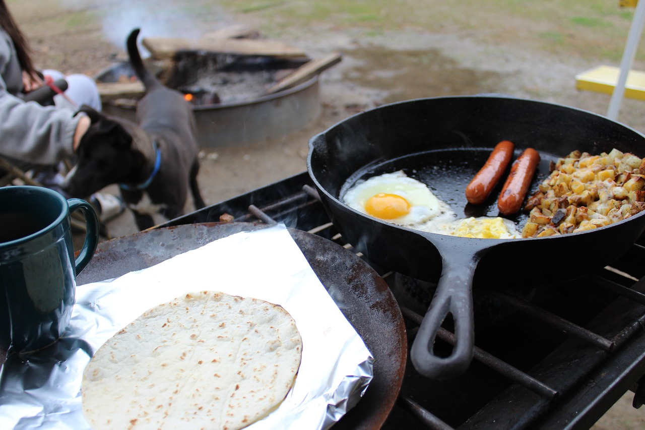 Nine Food Ideas For Camping