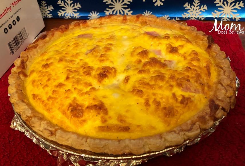 Ham and Cheese Quiche- Family Favorite #recipe