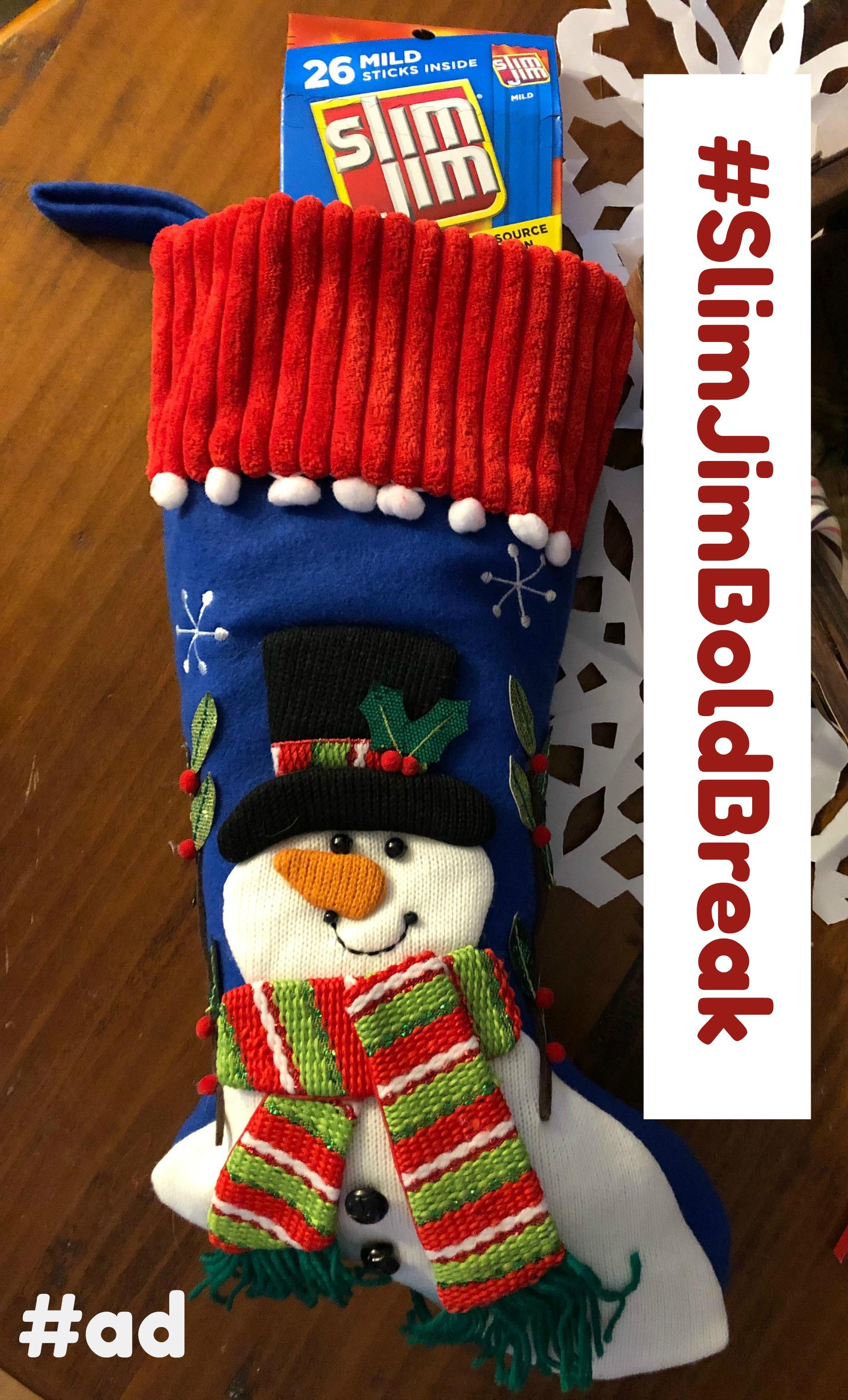 How to Create the Ultimate Christmas Stocking with Slim Jim #SlimJimBoldBreak