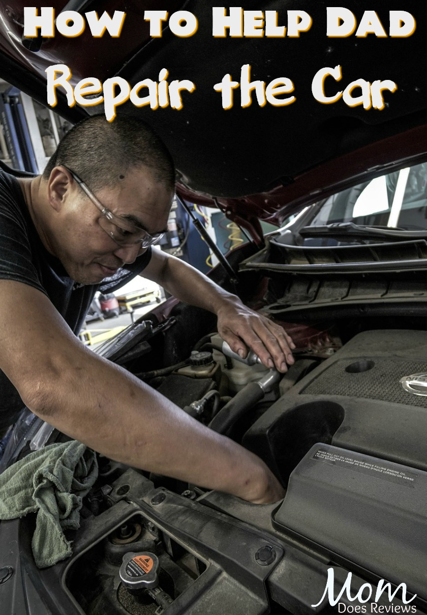 How to Help Dad Repair the Car with Teamwork and Determination #car #carrepair #homeandliving #cars