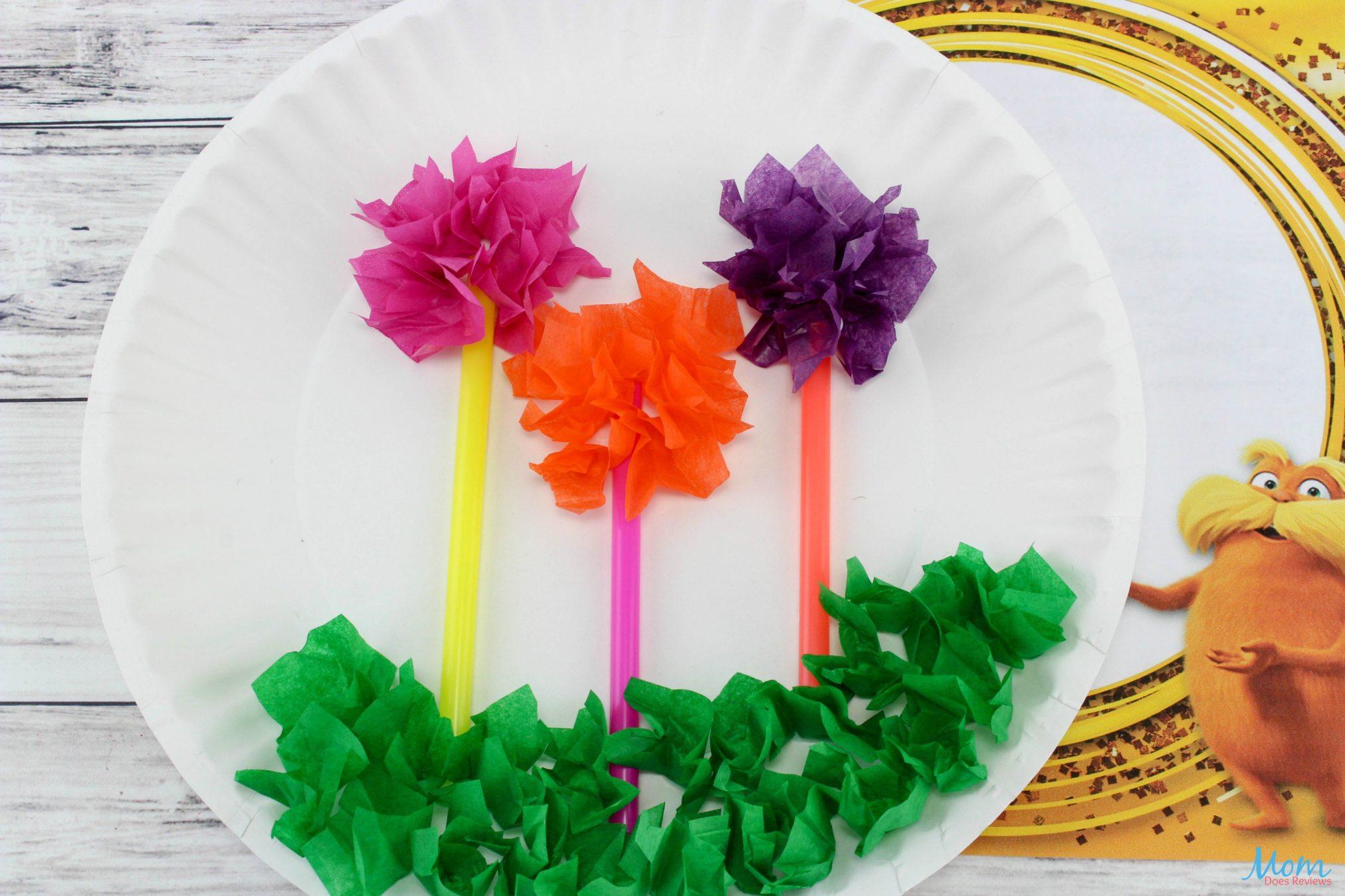 The Lorax Truffula Trees Craft: A Fun Craft for the Kids!