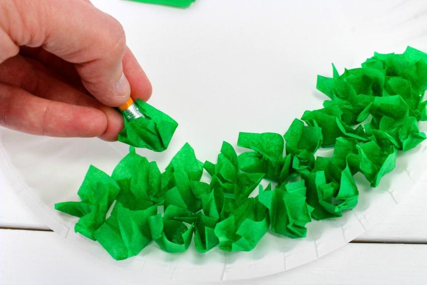 The Lorax Truffula Trees Craft is s Fun Craft process