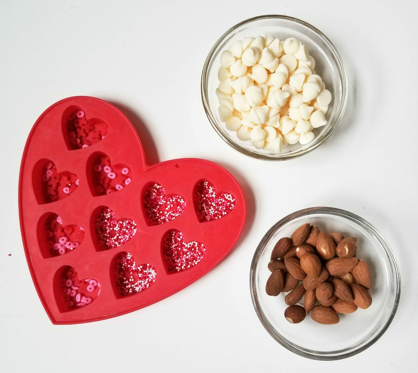 White Chocolate Almond process
