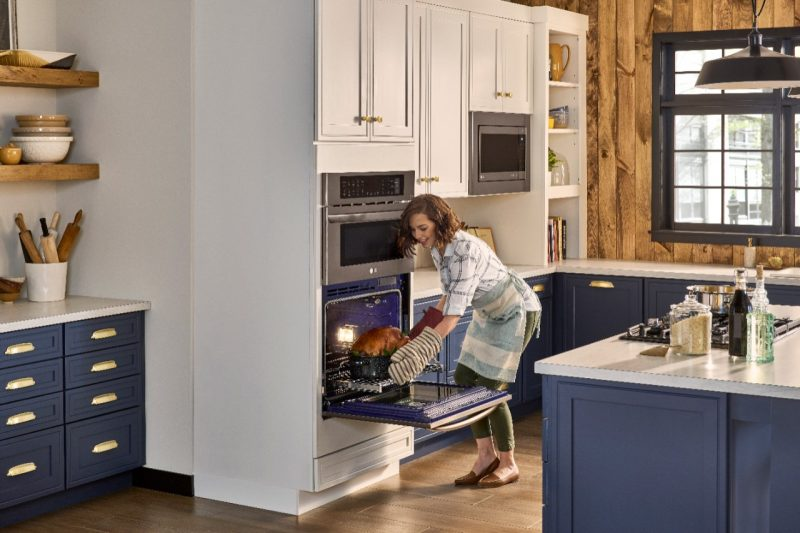 Upgrade Your Cooking and Kitchen with LG Combination Double Wall Oven from #BestBuy