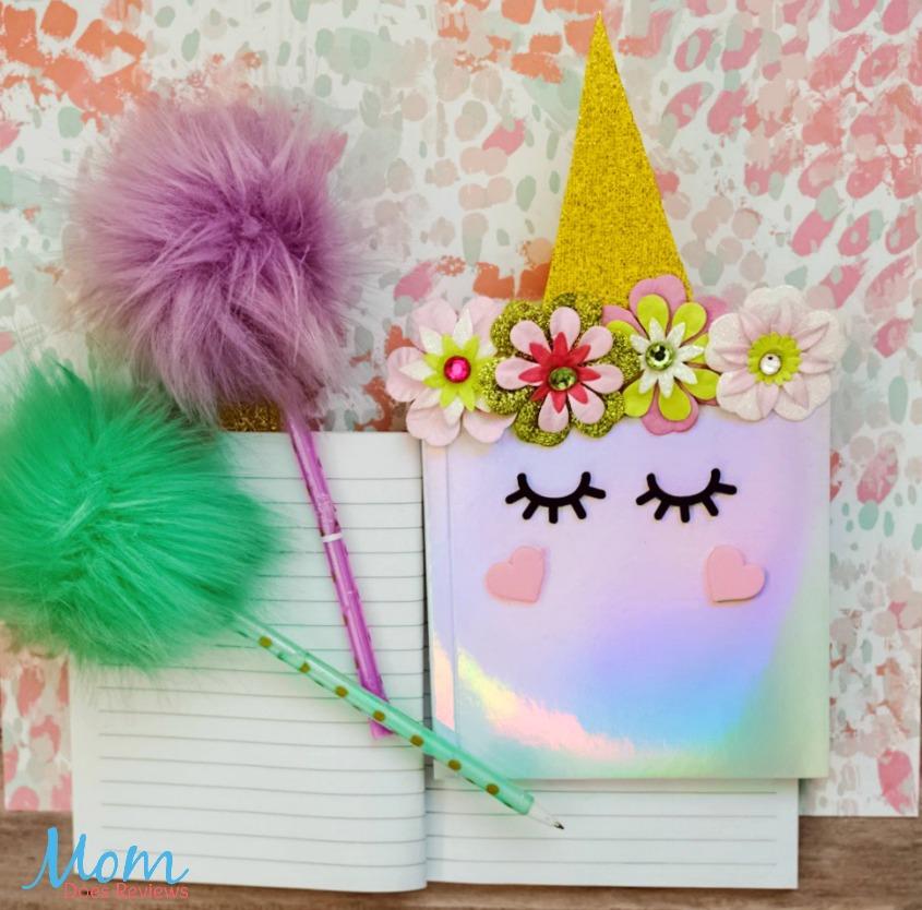 Holographic Unicorn Notebook