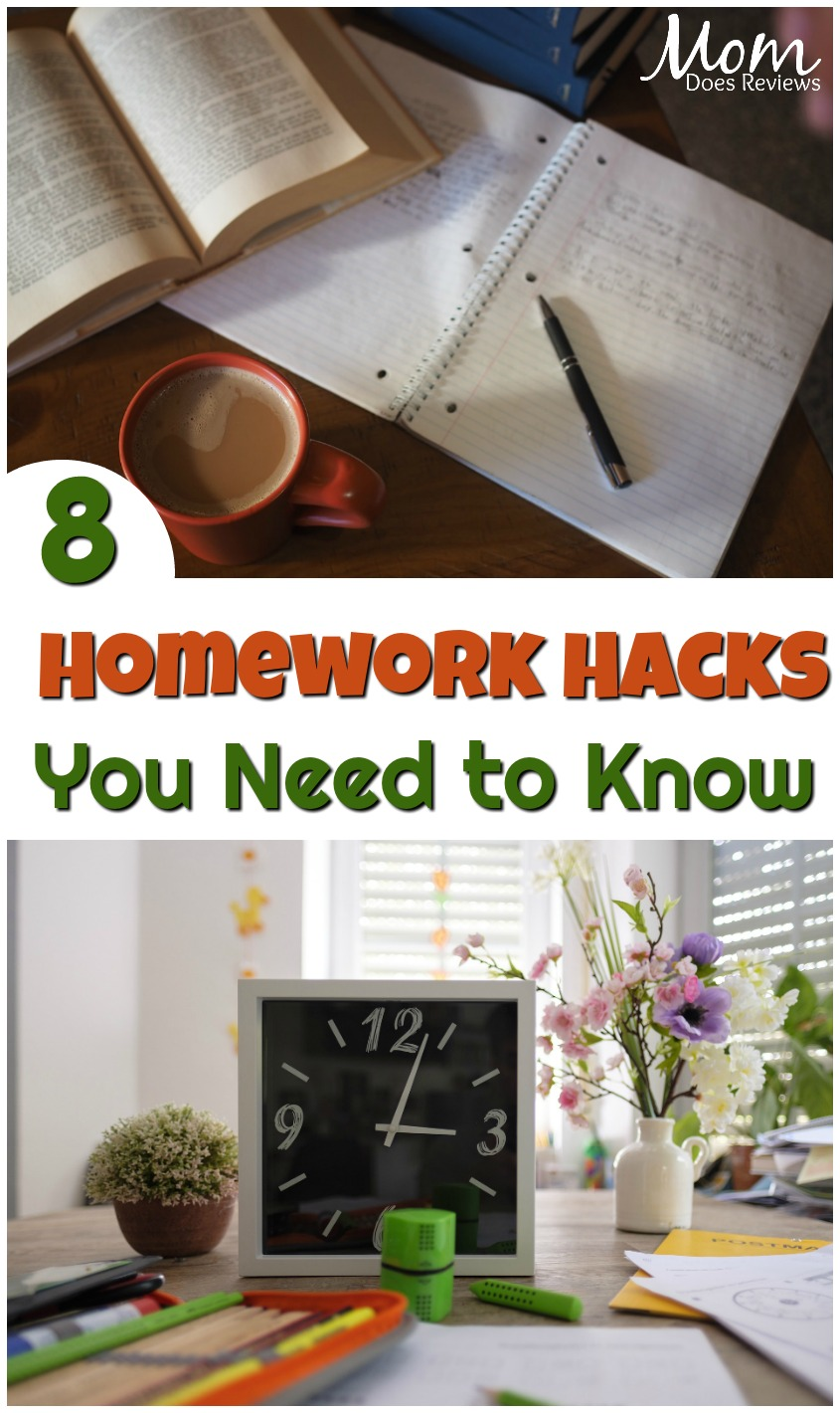 Homework Hacks: 8 Tips to Make it Easier and Faster #education #homework #student #studying