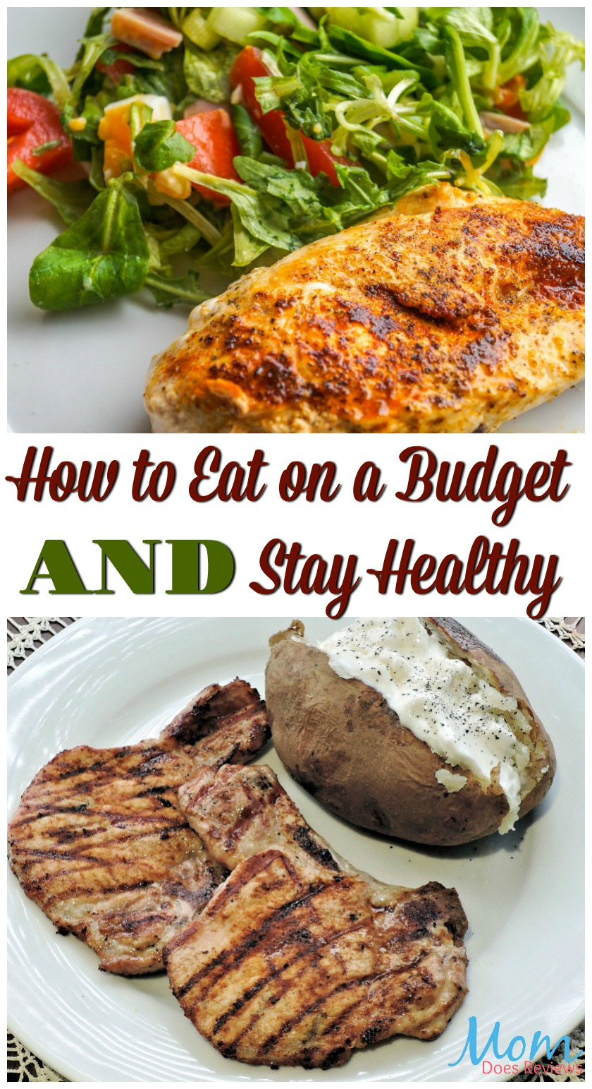 How to Eat on a Budget and Stay Healthy #food #healthy #healthyliving #eathealthy #budget #freshfood