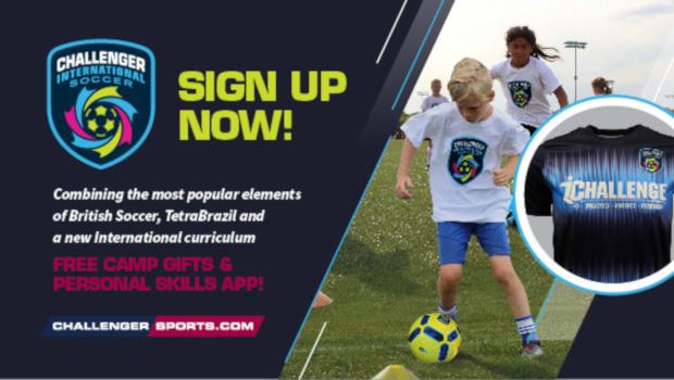 Sign up for Soccer Camp!