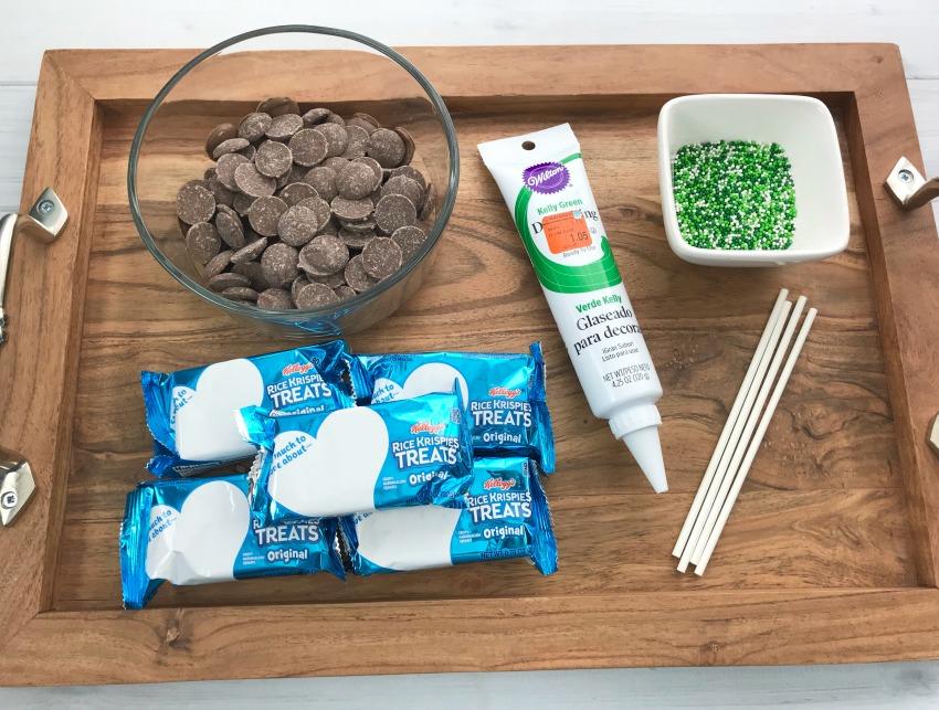 St. Patty's Day Rice Krispie Treats INGREDIENTS