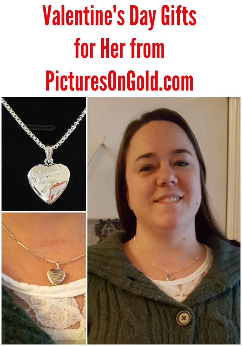 Valentine's Day Gifts for Her from PicturesOnGold.com