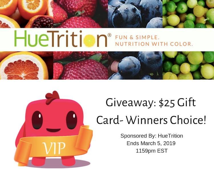 #Win $25 Gift Card of your choice, US, ends 3/5