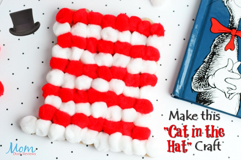 Cat in the Hat Craft #drseuss #craft #funstuff #kids