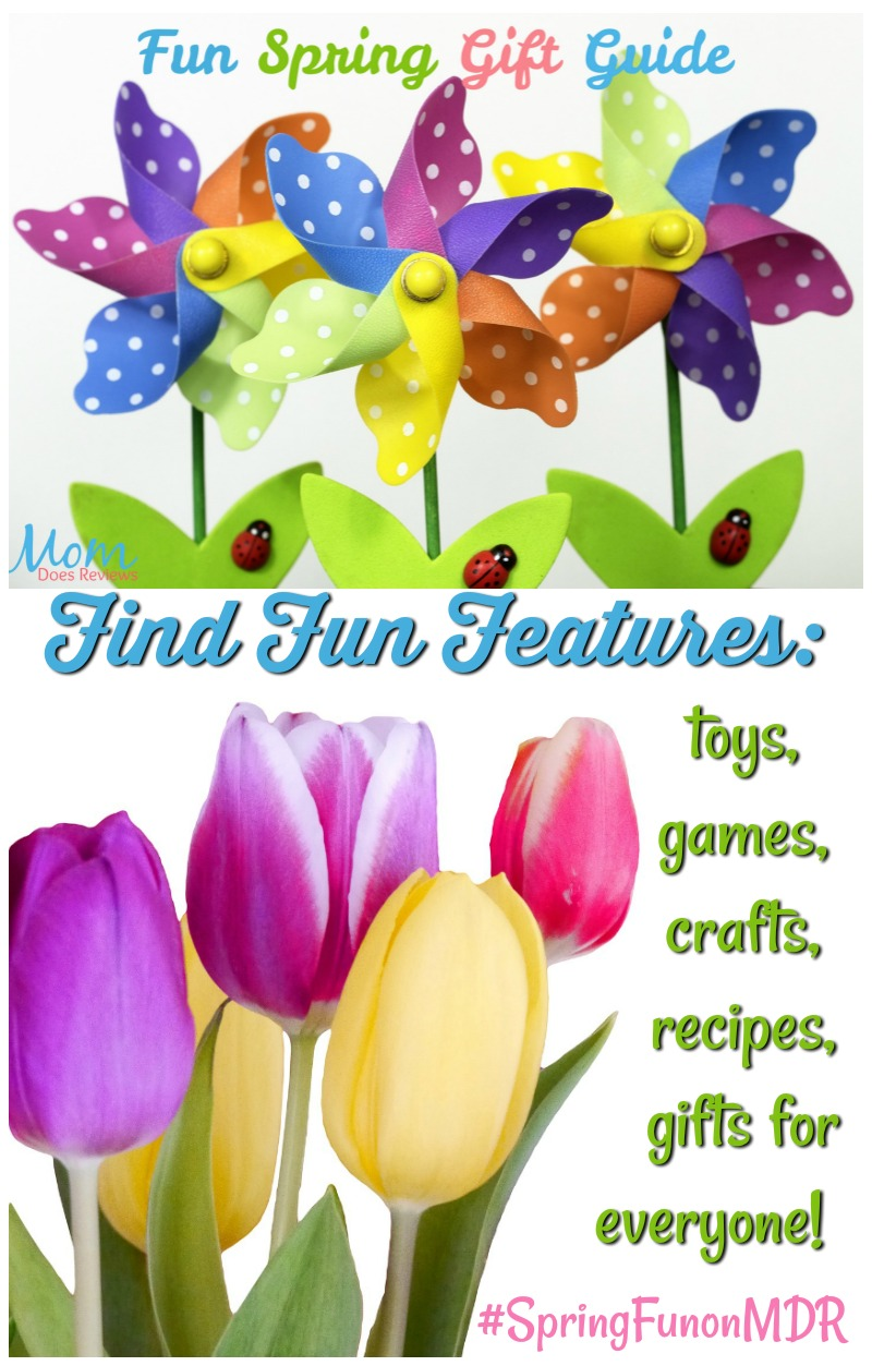 Fun Spring Gift Guide 2019 #SpringFunonMDR #giftGuide #gifts #giftideas