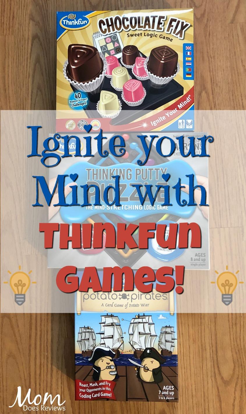 Think Fun Games- Fun Your Family will LOVE! #Sweet2019