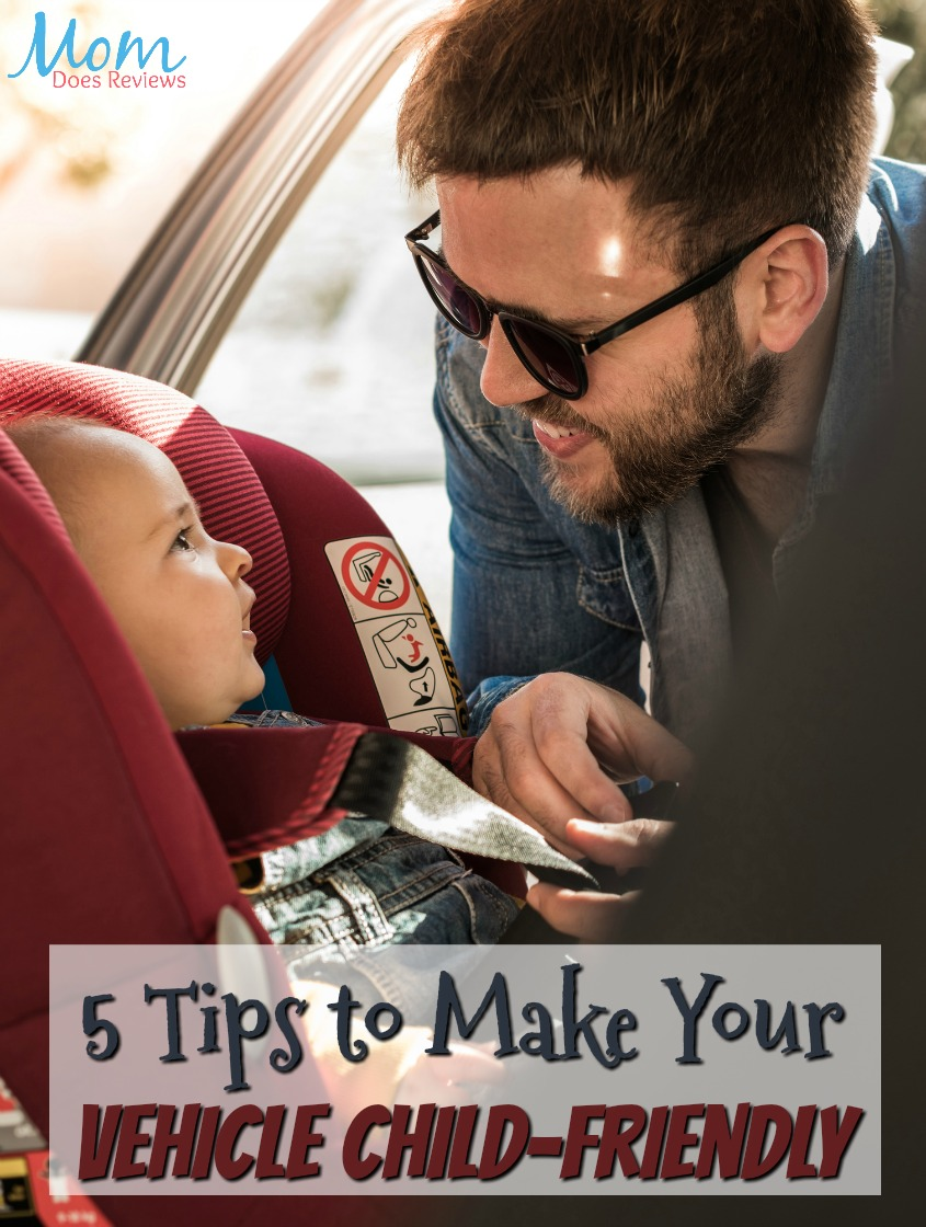 5 Tips to Make Your Vehicle Child-Friendly