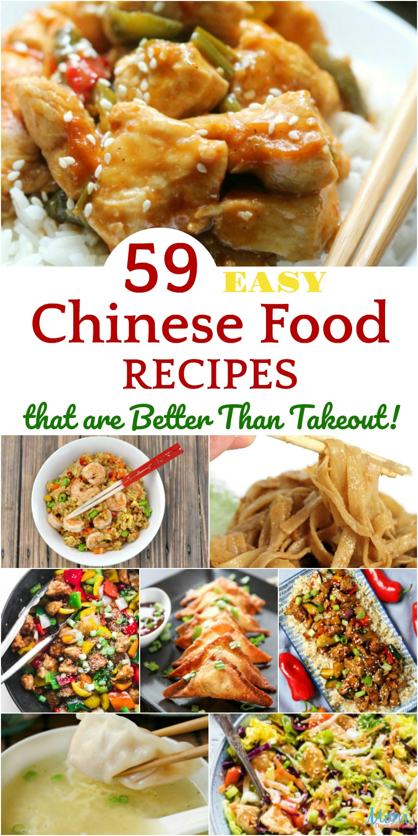 59 Easy Chinese Food Recipes That Are Better Than Takeout