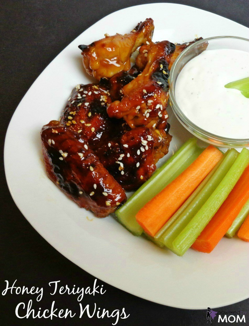 Baked Honey Teriyaki Chicken Wings