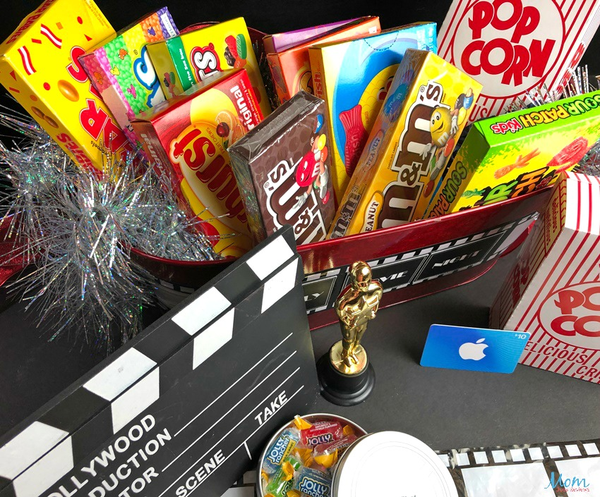 Canterberry Gifts Family Movie Night Gift Basket