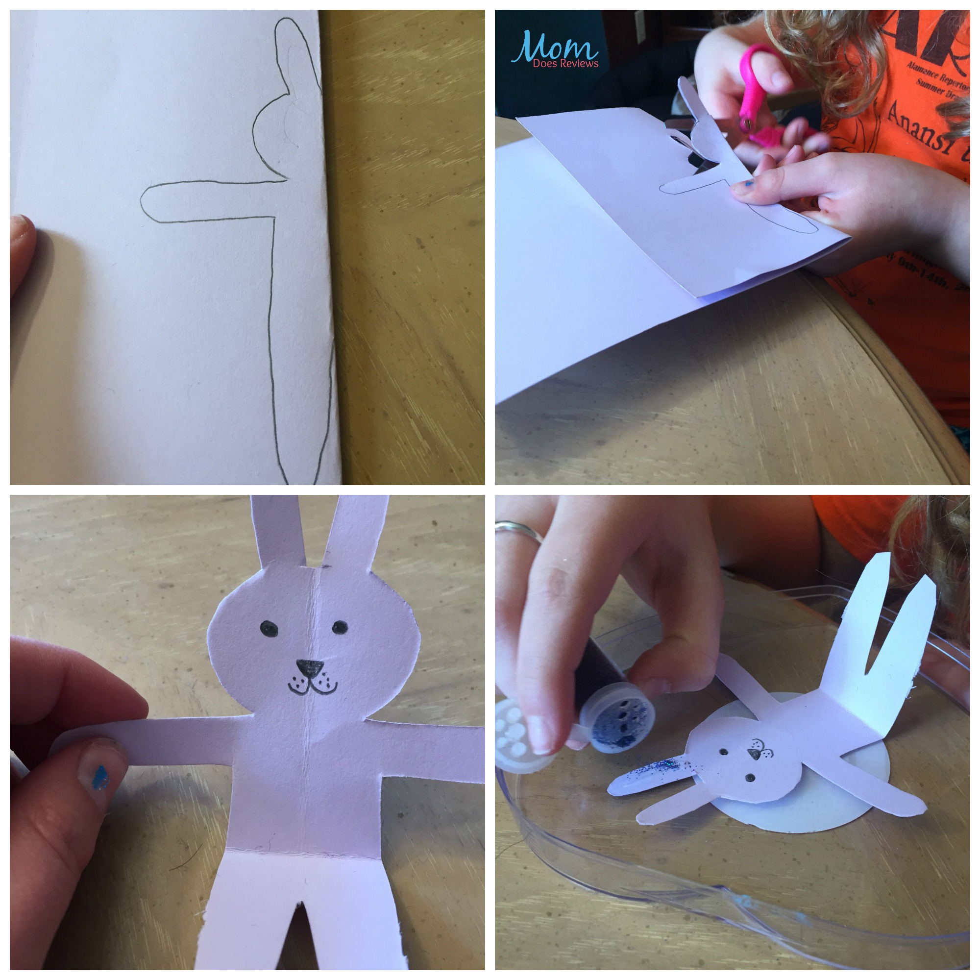 making Easter Friend craft