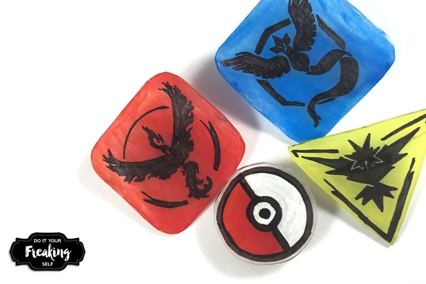 DIY Pokémon Go Pins!