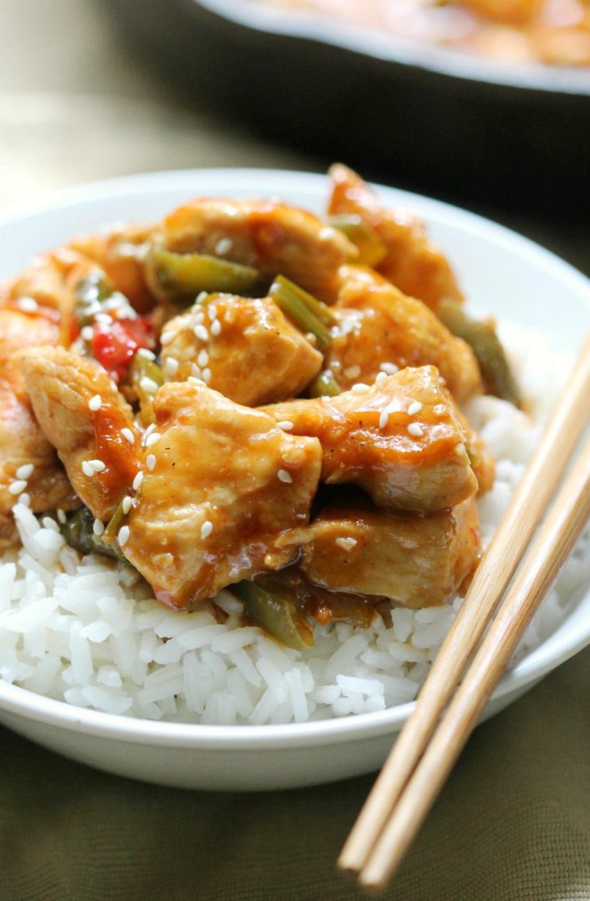 Gluten-Free General Tso's Chicken