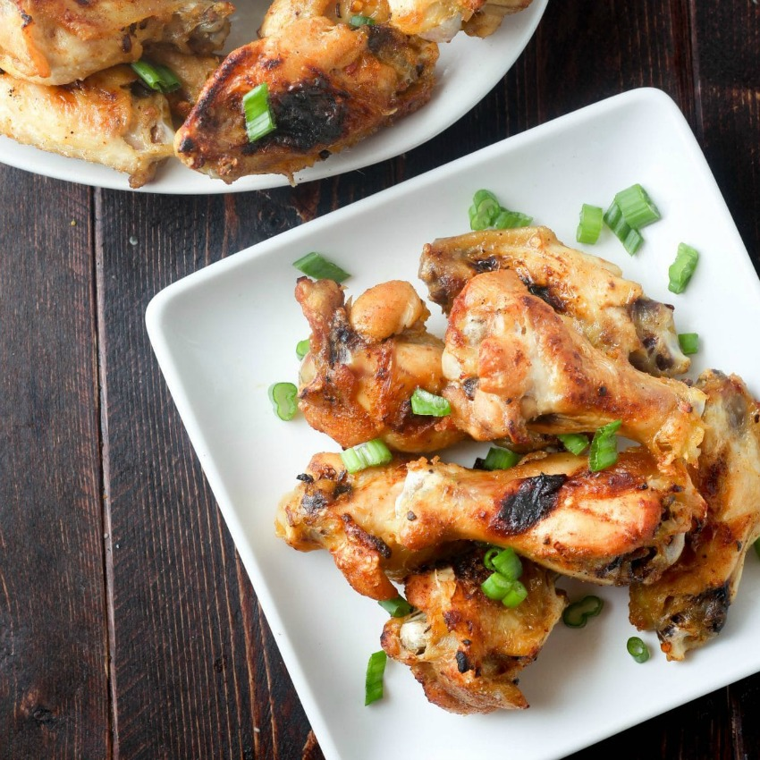 Jamaican Jerk Baked Wings