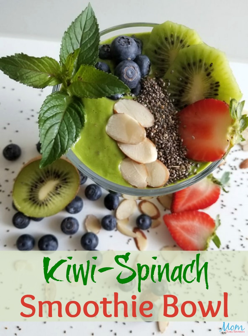 Kiwi-Spinach Smoothie Bowl Recipe