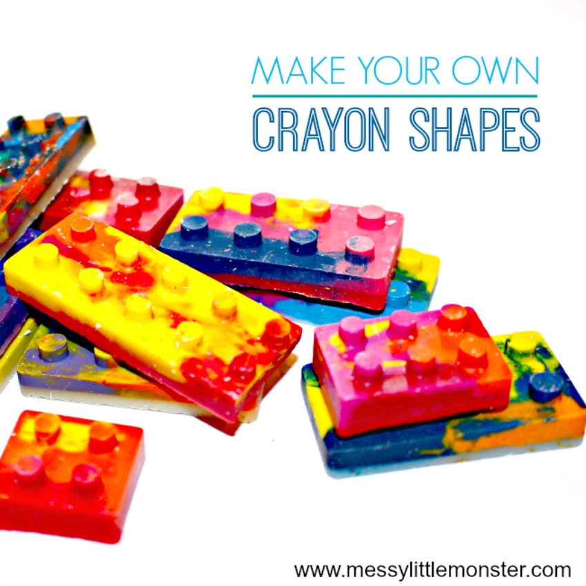 LEGO Shaped Crayons