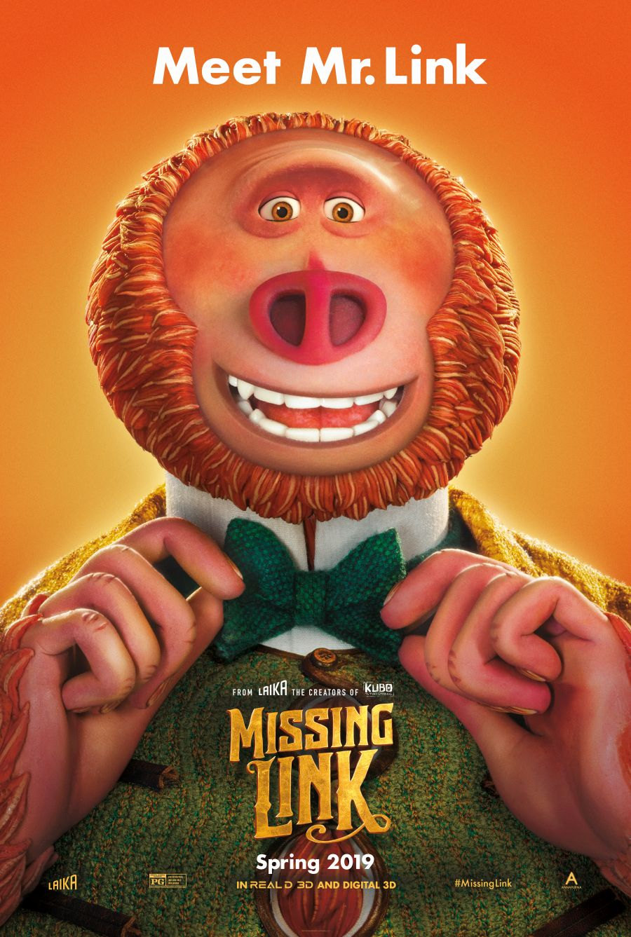 MISSING LINK - Watch the Trailer! Don't Miss It In theaters April 12th #MissingLink