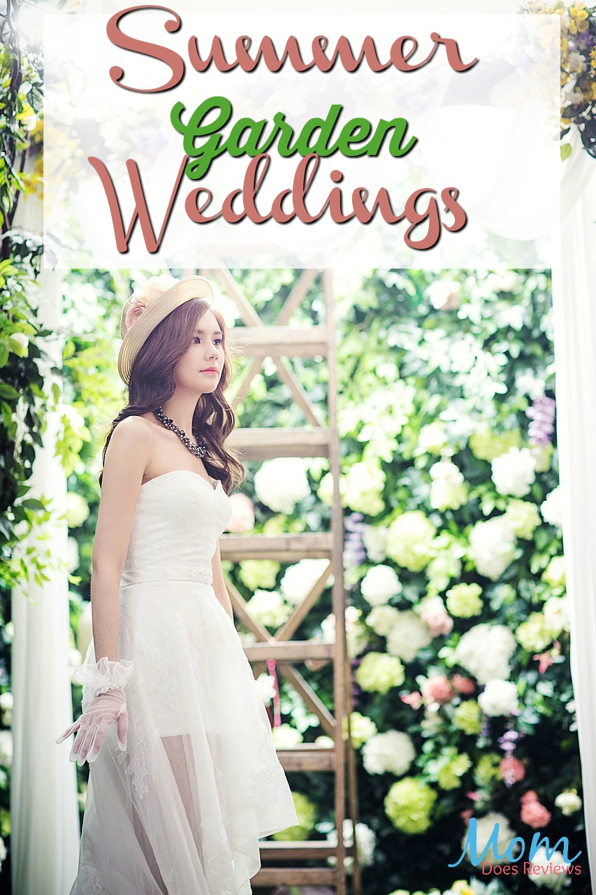 Summer Garden Weddings #brides #gardens #summer #weddings #flowers