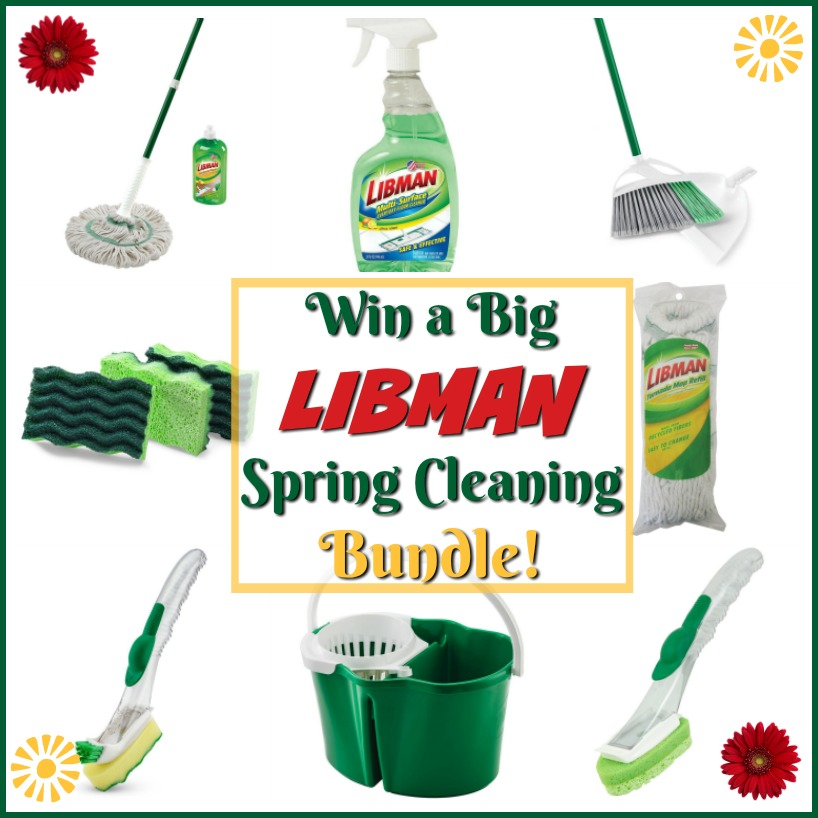 Win a Libman Spring Cleaning Bundle