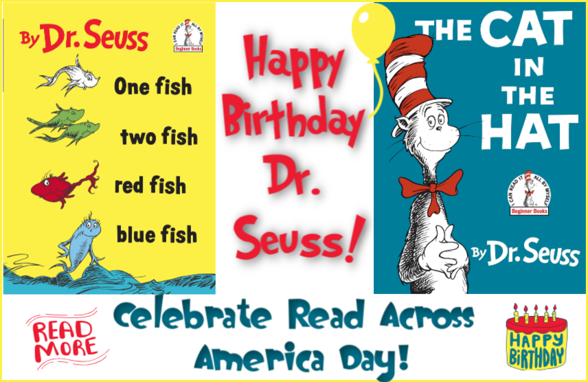 Happy 115th Birthday Dr. Seuss! And Let's Celebrate Read Across America Day! #drseuss