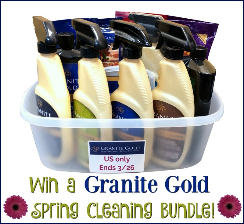 Spring Clean with Granite Gold & #Win a Cleaning Bundle too! #SpringFunonMDR