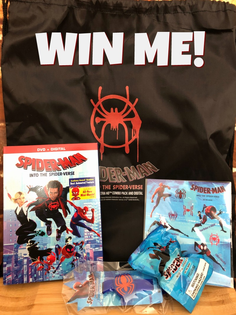 Spider-Man: Into the Spider-Verse DVD and Activity Kit #Giveaway