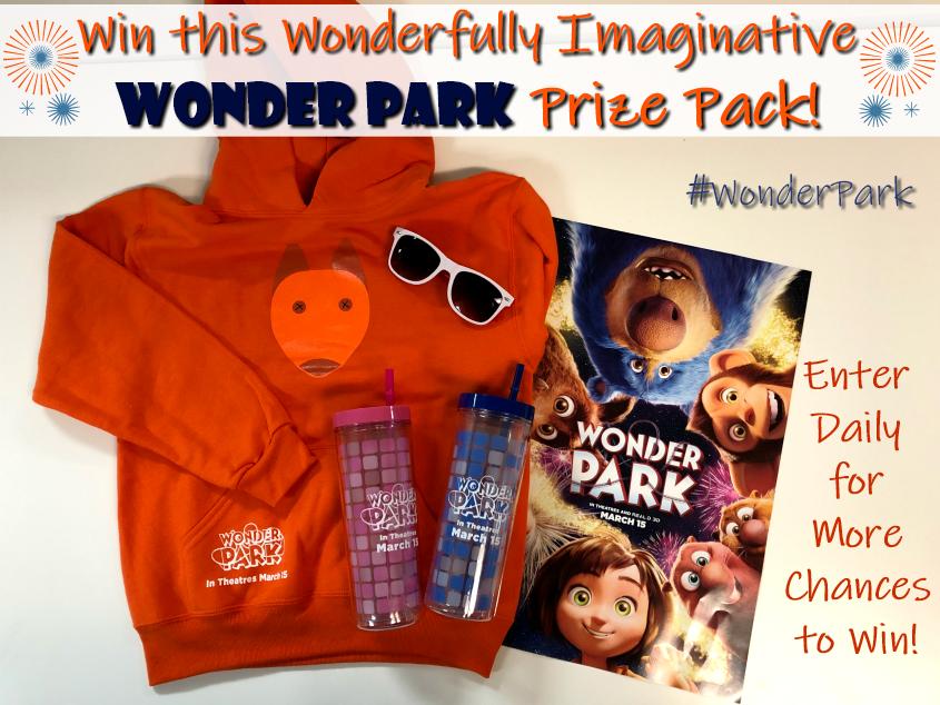 Win this Wonderfully Imaginative WONDER PARK Prize Pack #Wonderpark