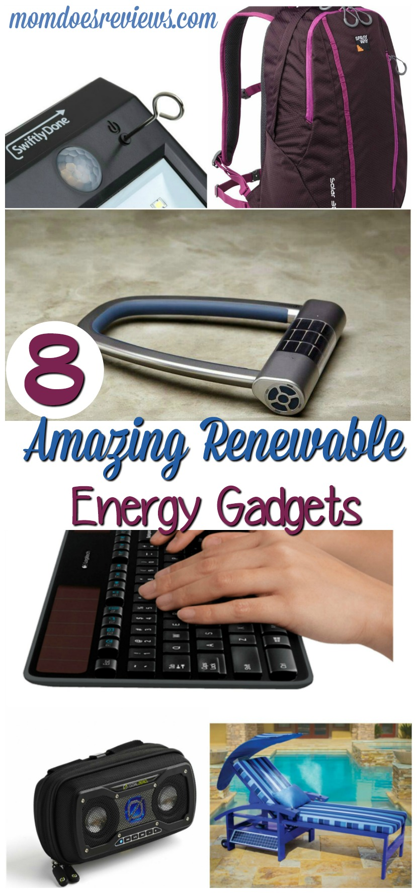 8 Amazing Renewable Energy Gadgets for the Home #greenliving #home #renewableenergy #gadgets