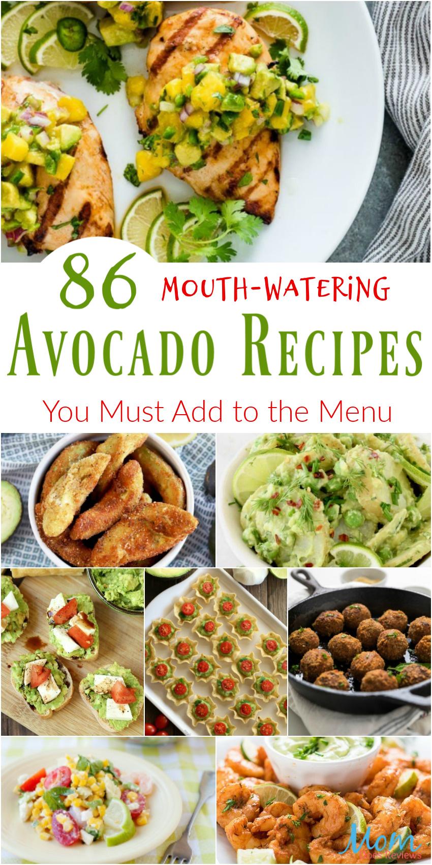 86 Delicious Avocado Recipes You Must Add to the Menu #avocado #recipes #food #foodie #getinmybelly