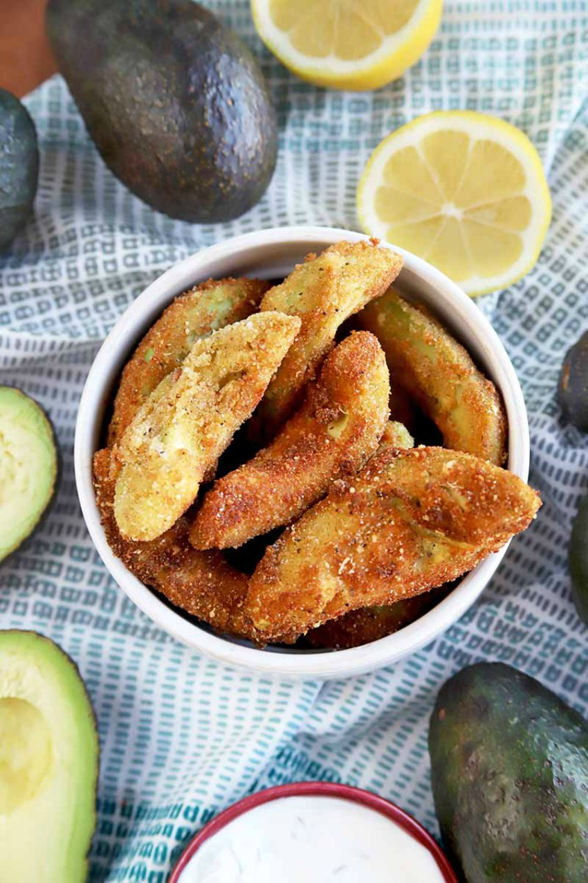 Batter-Dipped Avocado Fries
