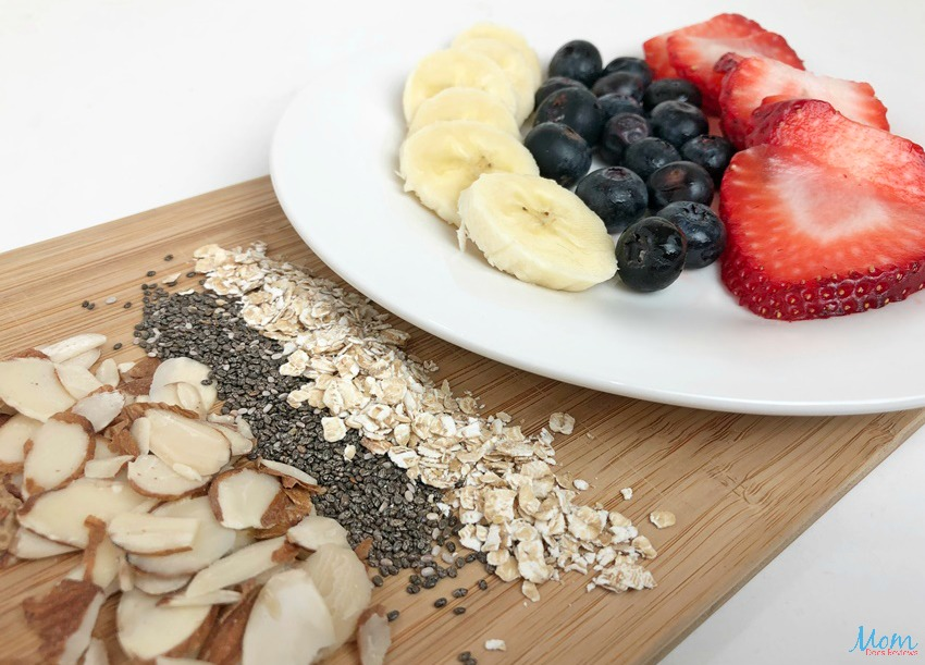 Berrylicious Smoothie Bowl Recipe topping ideas