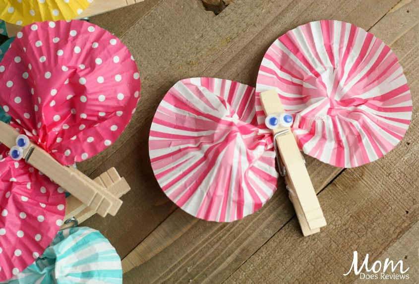 Cupcake Wrapper Butterflies