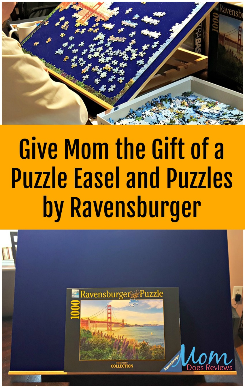 Give Mom the Gift of a Puzzle Easel and Puzzles by Ravensburger