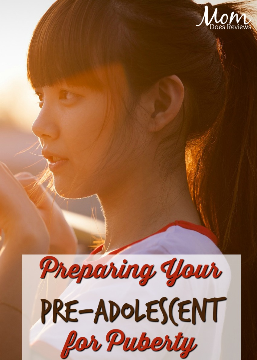 Preparing Your Pre-Adolescent for Puberty #parenting #tweens #puberty