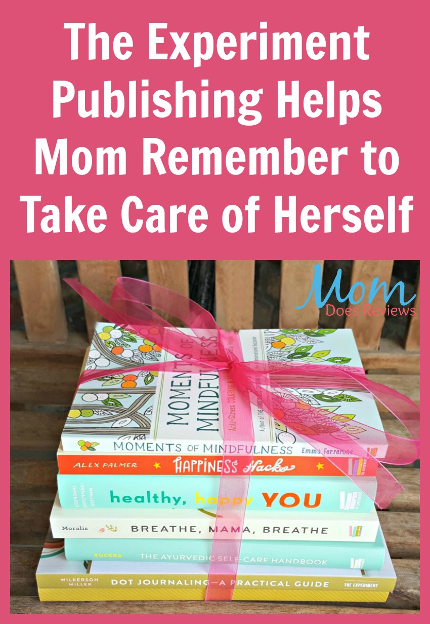 The Experiment Publishing Helps Mom Remember to Take Care of Herself