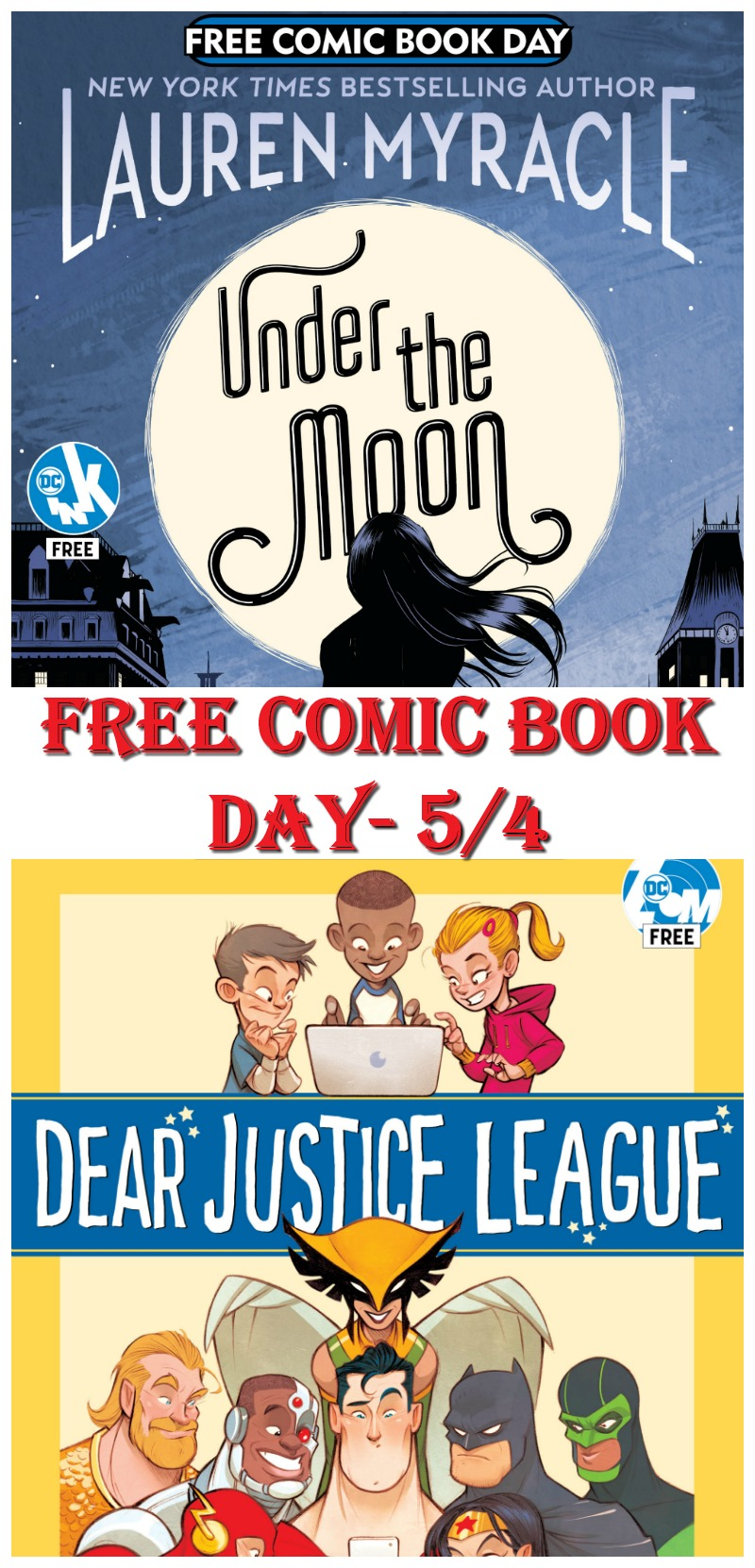 Free Comic Book Day is May 4th!  Don't miss it! #FCBD