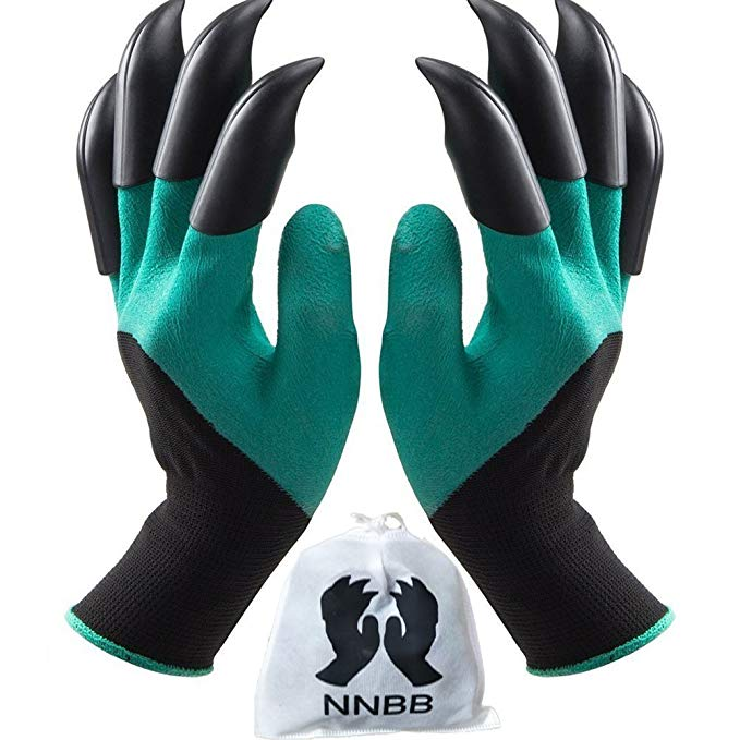 garden claw tip gloves